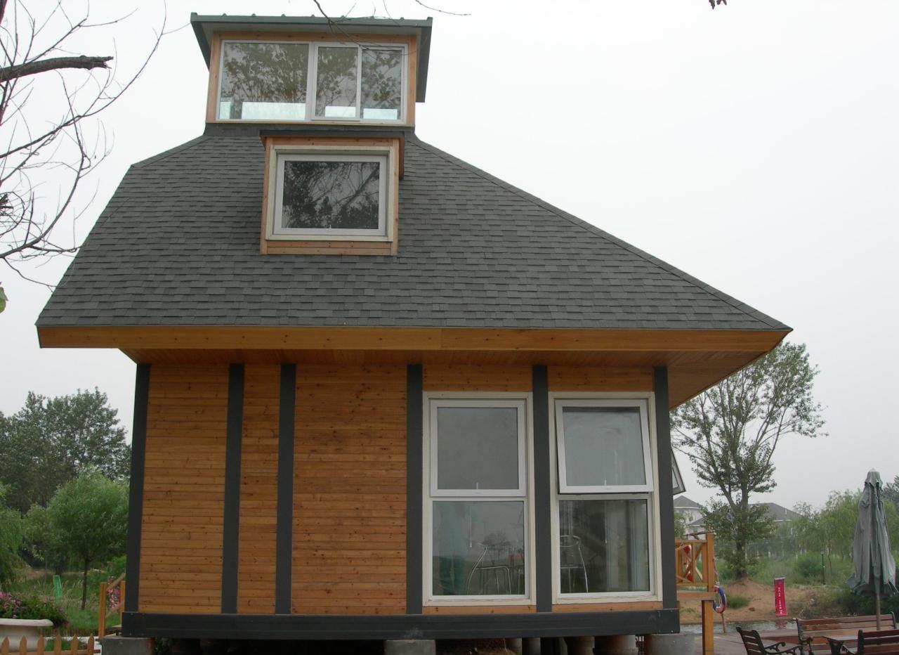 轻型木屋结构解剖图